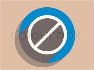 Vektor af 'stop, isoleret, illustration'