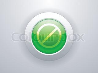 Vektor af 'isoleret, symbol, stop'