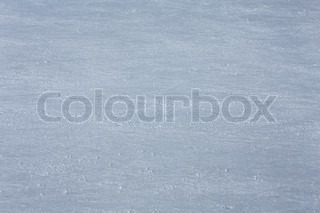 rink surface with trace of skates