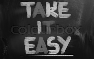 Take It Easy Concept