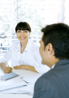 Image of 'business, executive, smiling'