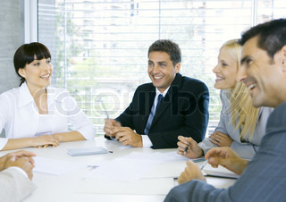 Image of 'business, conference, people'