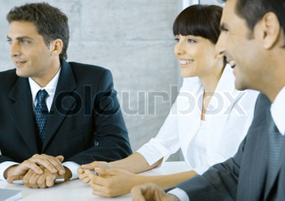 Image of 'business meeting, business people, business'
