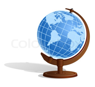 Earth Globe (Sphere)