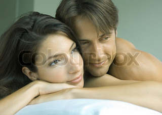 Image of 'couple, bed, nude'