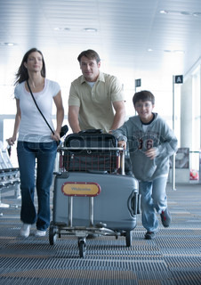 Image of 'travel, airport, casual'