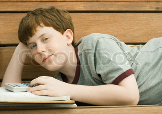 Image of 'kid, child, books'