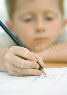 Image of 'homework, kid, problematic'