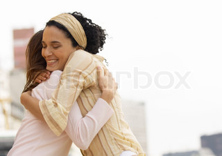 Image of 'hug, friend, hugs'