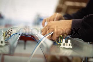Bild von 'Elektriker, Atelier, Herstellungs-'