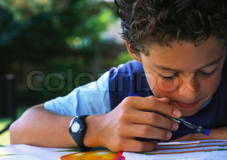 Image of 'boy, kid, wristwatch'