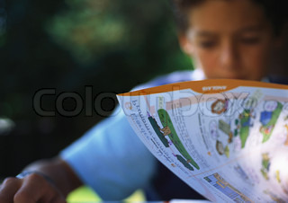 Image of 'kid, book, books'