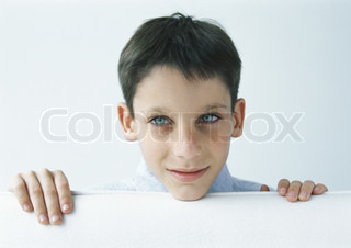 Image of 'grin, mischievousness, boy'