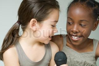 Image of 'singing, children, fun'