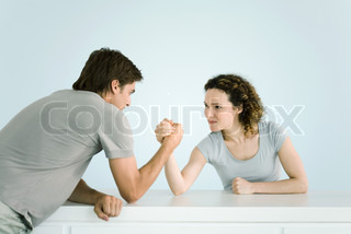 Image of 'arm wrestling, females, female'