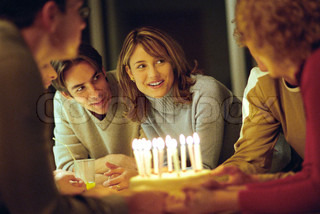 Image of 'families, birthday, celebrate'