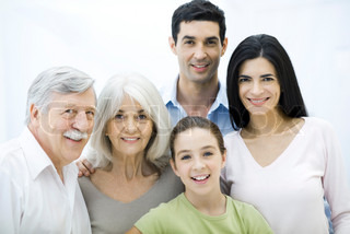 Image of 'grandfather, toothy smile, seniors'