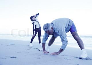 Bild von 'Pärchen, laufend, Frau'