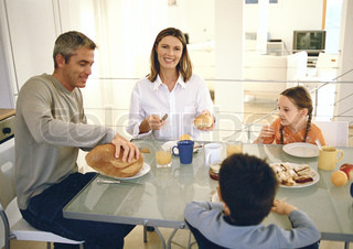 Image of 'breakfast, table, families'