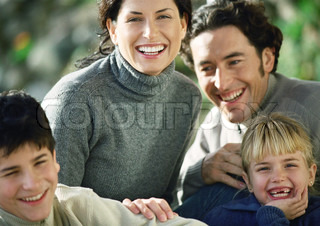 Image of 'couple, children, mummy'