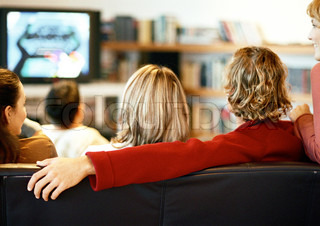 Image of 'home, tv, watching'