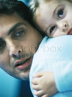 Image of 'father, daughter, kid'