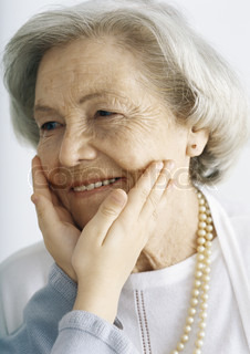 Image of 'faces, hand, old people'