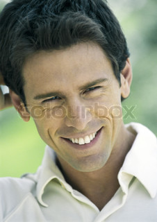 Image of 'grin, good mood, well-being'