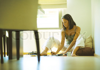Image of 'relaxed, work, indoor'