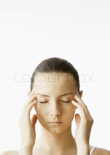 Image of 'head, massage, woman'