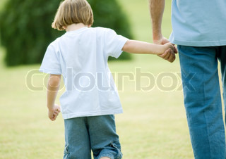 Image of 'child, father, single parent'