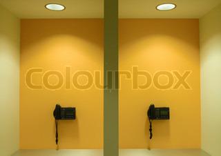 Image of 'orange, shades, indoors'