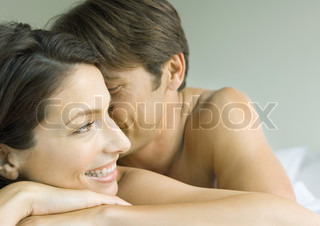 Image of 'couple, bed, love'