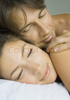 Image of 'bed, couple, in love'