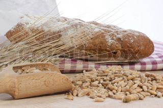 Billede af 'brød, billede, weekendkuffert'