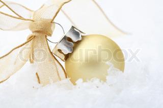 Billede af 'guld, gylden, snefald'
