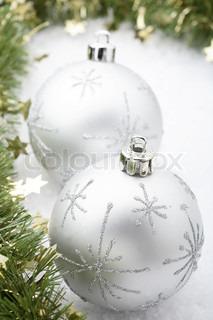 Billede af 'juleaften, ball, nærbillede'