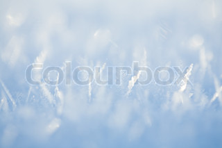 ice crystal pattern background