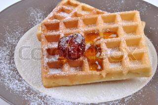 Billede af 'morgenmad, tallerken, closeup'