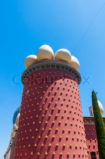 Salvador Dali museum in Figueras, Spain