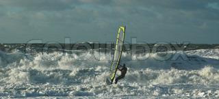 Billede af 'windsurfing, storme, ocean'