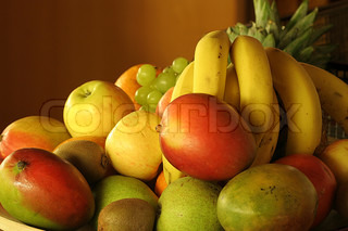 fruits on a plate