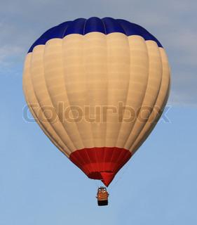 Image of 'air, hot air balloon, travel'
