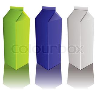 Vektor af 'emballage, objekter, objekt'