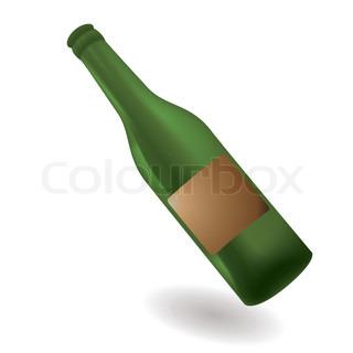 Vektor af 'alkohol, spejle, grøn'