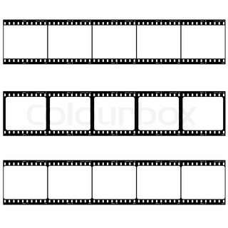 Strip of three reels with room to add your own image