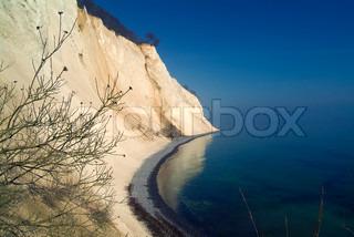 Billede af 'klint, danmark, fredelige'