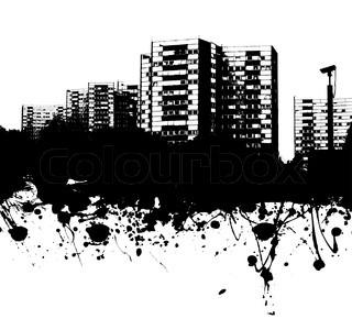 Grunge Stil Betriebswirtschaftlicher Hintergrund in schwarzer Tinte ideale Kulisse