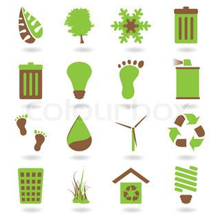 Vektor af 'logo, symbol, økologiske fødevarer'