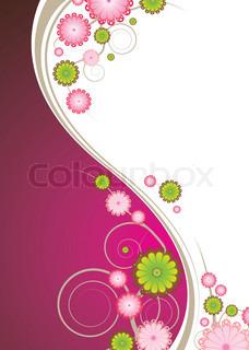 Vektor af 'blomst, fest, elegante'